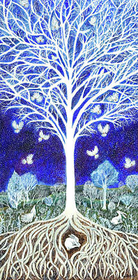 Painting - Spirit Tree by Lise Winne
