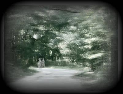 Spirit Walk Art Print by Leslie Revels Andrews