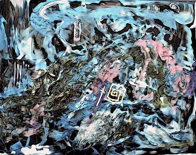Vincent Van Gogh - Spirit World 1 by Bruce Sanborn