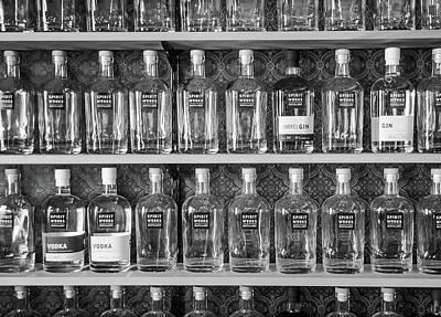 Photograph - Spirit World Bottles by T Brian Jones