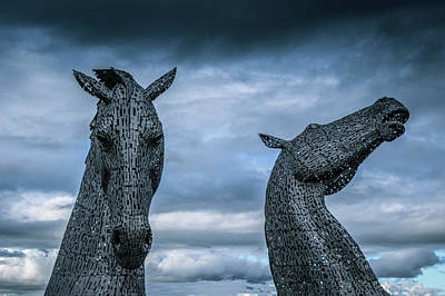 Kelpie Photograph - Spirited. by Angela Aird
