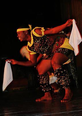 Photograph - Spirited Dance by Muyiwa OSIFUYE