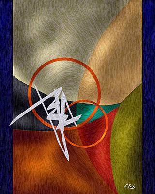 Contemporary Abstract Digital Art - Spirited by Gordon Beck