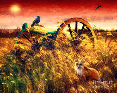 Digital Art - Spirits Of Antietam by Tina LeCour