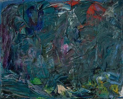 Stylish Painting - Spirits Of Mountains, Original by Eva Vladi