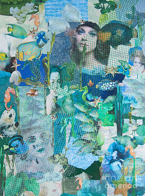 Otter Mixed Media - Spirits Of The Sea by Sandy McIntire