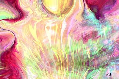 Spirits Of The Sun Art Print