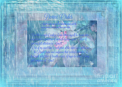 Digital Art - Spiritual Art  Devine Order by Sherri Of Palm Springs