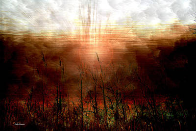 Spiritual Awakening Art Print by Linda Sannuti