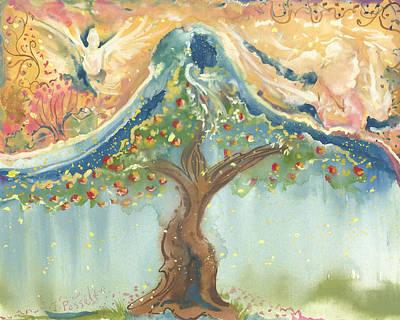 Spiritual Embrace Original by Sheri Jo Posselt