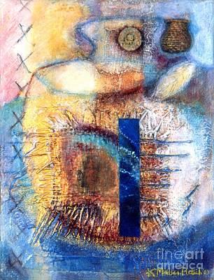 Painting - Spiritual Journey by Kerryn Madsen-Pietsch