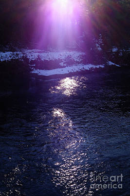 Art Print featuring the photograph Spiritual Light by Tatsuya Atarashi