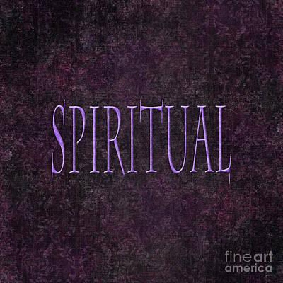 Digital Art - Spiritual by Linda Prewer