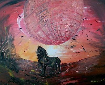 Spiritual Path Art Print by Eyal Malek