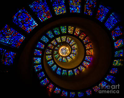 Spiral Photograph - Spiritual Spiral by Inge Johnsson