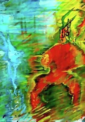 Painting - Spiritual Warrior by Gabby Tary
