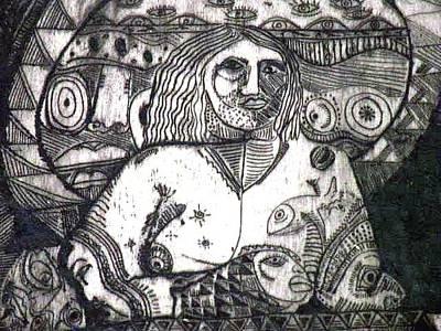 Robert Daniels Drawing - Spirituality by Robert Daniels