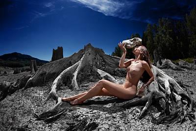Photograph - Spiritus Mundi by Dario Infini