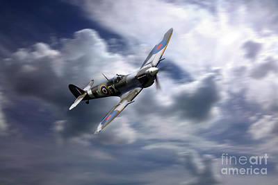 Spitfire Fast Pass Art Print