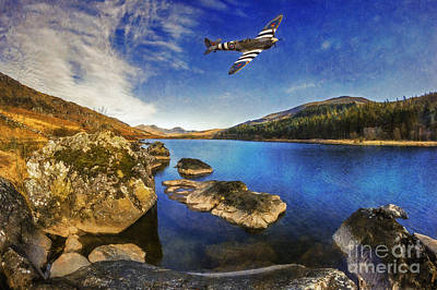 Photograph - Spitfire Lake by Ian Mitchell