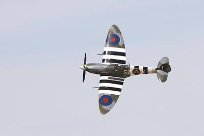 Spitfire Mk959  Art Print by Shoal Hollingsworth