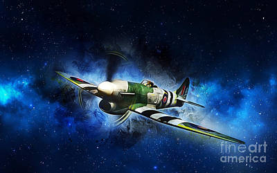 Painting - Hawker Typhoon by Ian Mitchell