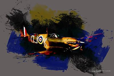 Digital Art - Spitfire P7350  by Roger Lighterness