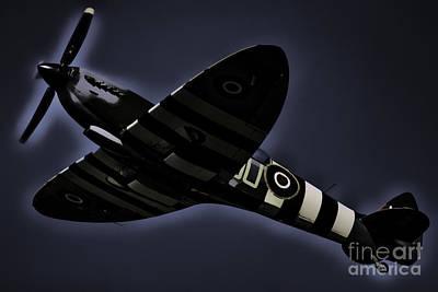 Photograph - Spitfire by Steven Parker