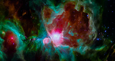 Spitzer's Orion Art Print
