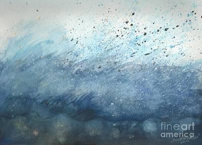 Splash   Art Print by Janet Hinshaw