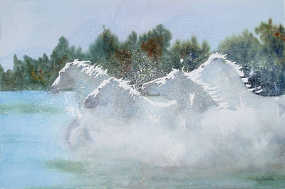 Painting - Splash 1 by Ally Benbrook