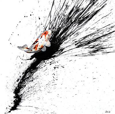 Painting - Splash 3 by Sandi Baker