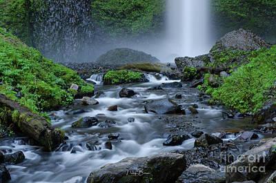 Photograph - Splash And Flow by Nick Boren