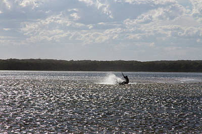 Photograph - Splash At Lake Wollumboola by Miroslava Jurcik