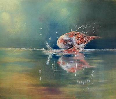 Art Print featuring the painting Splash by Ceci Watson