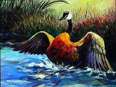 Painting - Splash Dance by David  Maynard