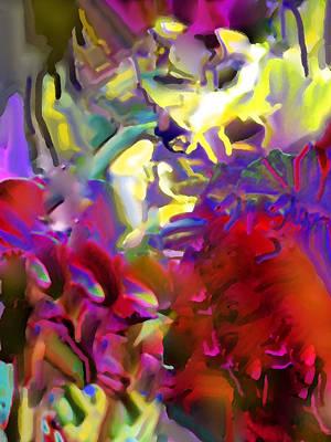 Digital Art - Splash by Ian  MacDonald