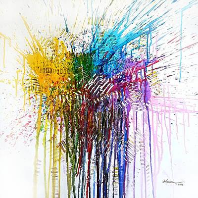 Painting - Splash by Kume Bryant