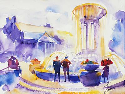 Splash Original by Lyudmila Tomova