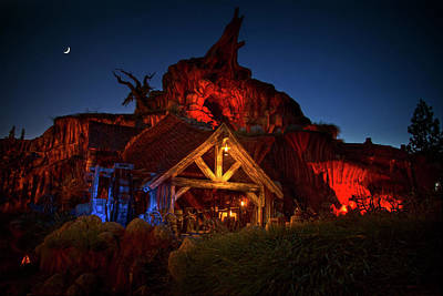 Photograph - Splash Mountain by Mark Andrew Thomas