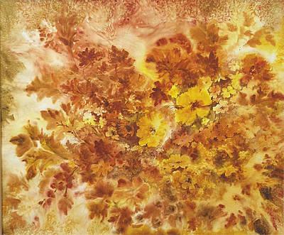Splash Of Autumn Color Art Print by Lois Mountz