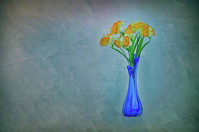 Photograph - Splash Of Blue And Yellow by Elvira Pinkhas