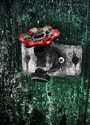 Digital Art - Splash Of Color by Scott Carlton