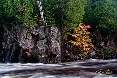Photograph - Splash Of Fall Color by Rikk Flohr