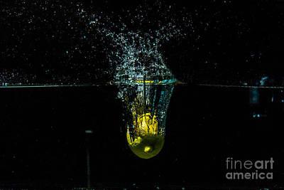 Wall Art - Photograph - Splash Of  Lemon 2 by Marj Dubeau