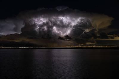 Photograph - Splash Of Lightning by Justin Johnson