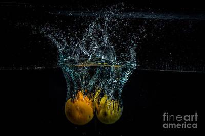 Wall Art - Photograph - Splash Of Orange And Lemon by Marj Dubeau