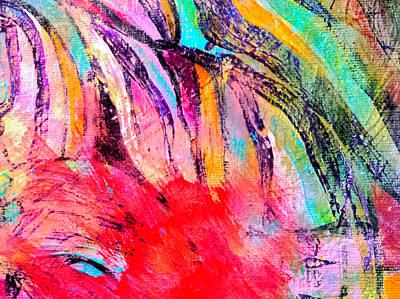 Painting - Splash Of Red by Nikki Dalton