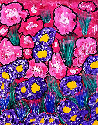 Spiritual Warfare Painting - Splash Of Spring by Pastor Matthew Brown