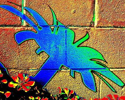 Digital Art - Splash Palm by Larry Beat